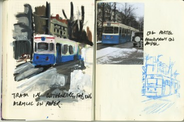 Winter Tram, Gothenberg