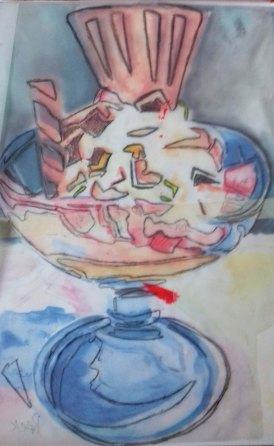 tracing sundae